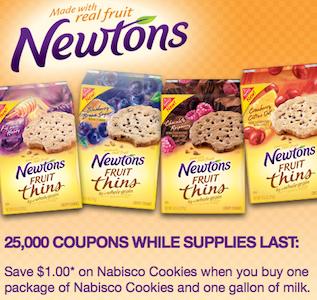 Nabisco Milk Cookies Coupon