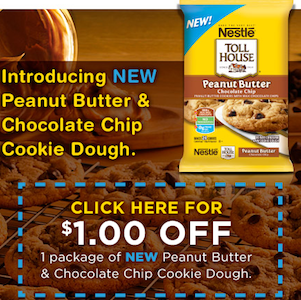 Nestle Peanut Butter Cookie Dough