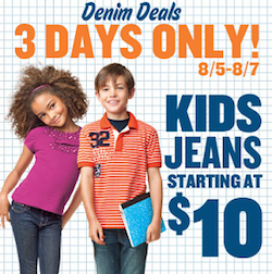 Old Navy 10 Denim