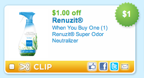 Renuzit Super Odor Neutralizer Coupon