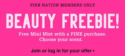 Victorias Secret FREE Mini Mist