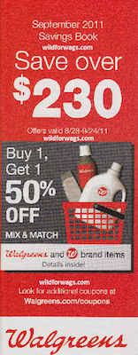 Walgreens September Coupon Book
