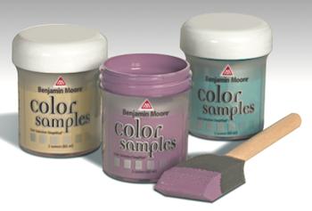Benjamin Moore Paint Color Samples