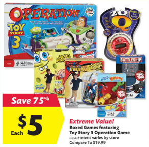 Big Lots Hasbro Games 5