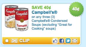 Campbells Soup Coupon