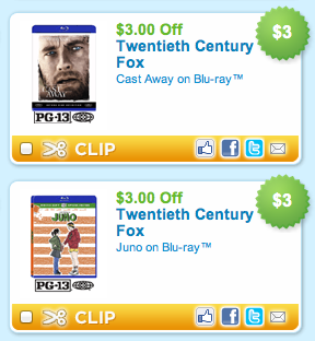 Coupons com Blu Ray Coupons
