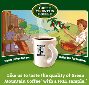 Green Mountain Coffee Sample