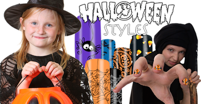 Halloween Styles Nail Shields