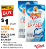 Home Depot FREE Mr Clean Magic Erasers