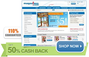 Magazines Cash Back