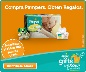Pampers Gifts to Grow Spanish