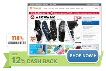 Payless Extra Cash Back