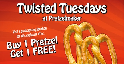 Pretzelmaker Twisted Tuesdays