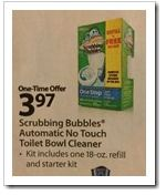 Scrubbing Bubbles One Step Toilet Cleaner Kit Walmart Deal