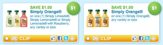 Simply Beverage Coupons
