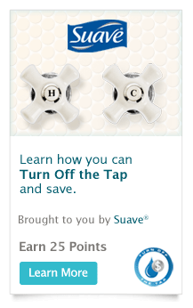 Suave Recyclebank Points