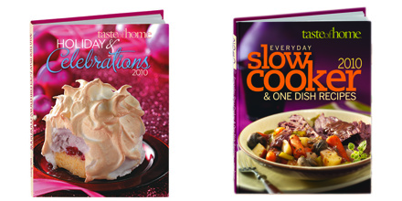 Taste of Home 5 Cookbooks