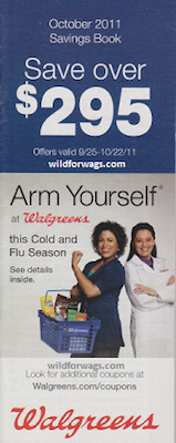 Walgreens October 2011 Coupon Book
