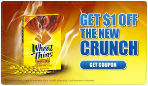 Wheat Thins Printable Coupon