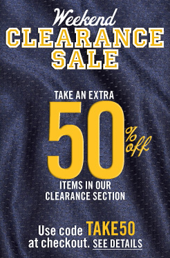 Aeropostale: Additional 50% off Clearance Items