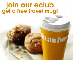 Au Bon Pain FREE Travel Mug