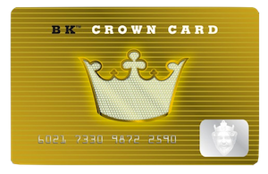 BK Crown Card