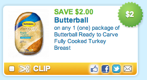 Butterball Coupon