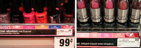 CVS Nail Polish Lip Color