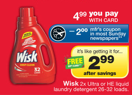 CVS Wisk Deal