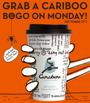 Caribou BOGO Coupon