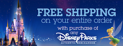 Disney Store FREE Shipping Parks Merchandise