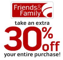 Famous Footwear Friends Family Sale