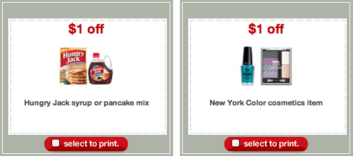 Hungry Jack NYC Cosmetics Target Coupons