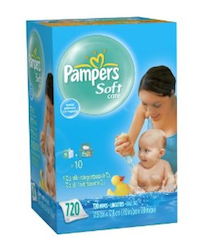 Pampers Soft Wipes