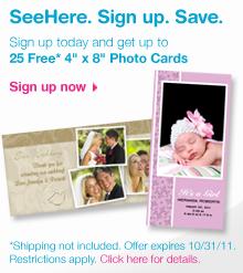SeeHere FREE Photo Cards