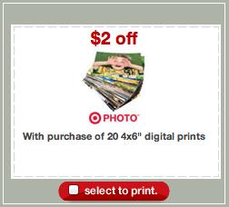 Target Photo Prints Coupon