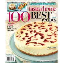 Taste of Home 100 Recipes