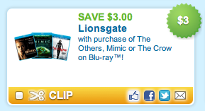 The Others Blu Ray Coupon