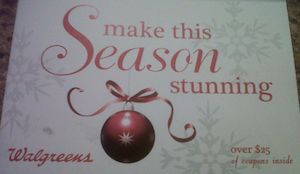 Walgreens Holiday Coupon Booklet