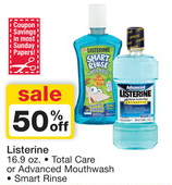 Walgreens Listerine Sale