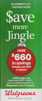 Walgreens November 2011 Coupon Book