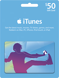 50 iTunes Card