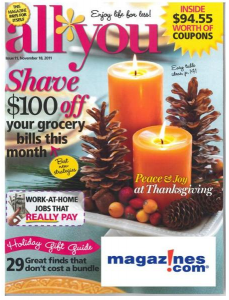December 2011 All You Magazine