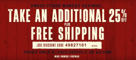 American Eagle Cyber Monday Sale