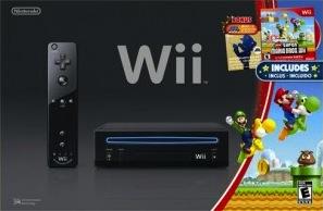 Black Wii Mario