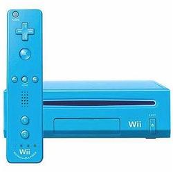 Blue Nintendo Wii
