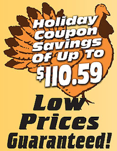 Cash Wise Holiday Coupon Booklet