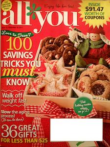 December 2011 All You Magazine