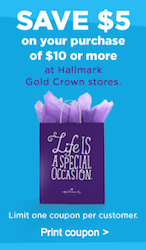Hallmark Gold Crown Coupon