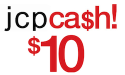JCP 10 Coupon